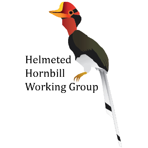 Helmeted Hornbill Working Group logo