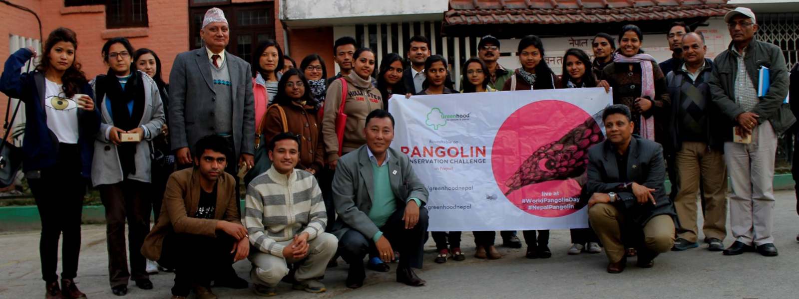 Greenhood Nepal - First Pangolin Roundtable 2015