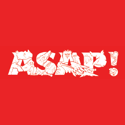 ASAP logo red