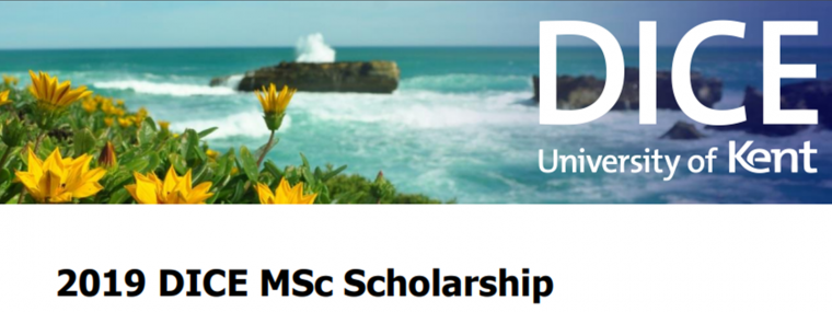 DICE MSc Scholarship 2019
